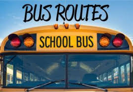 2019-20 Bus Routes and Pick Up Times